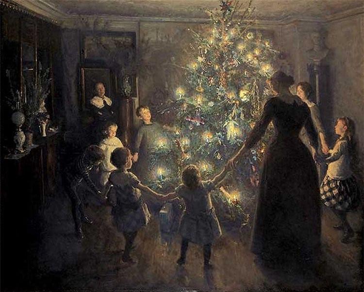 God Rest Ye Merry, Gentlemen - Marktsack, mittelalterlicher Dudelsack, Weihnachtslieder
