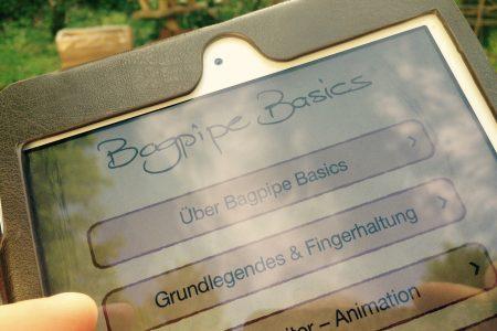 Im Test: Die Dudelsack-Apps von Thomas Zöller - Great Highland Bagpipe