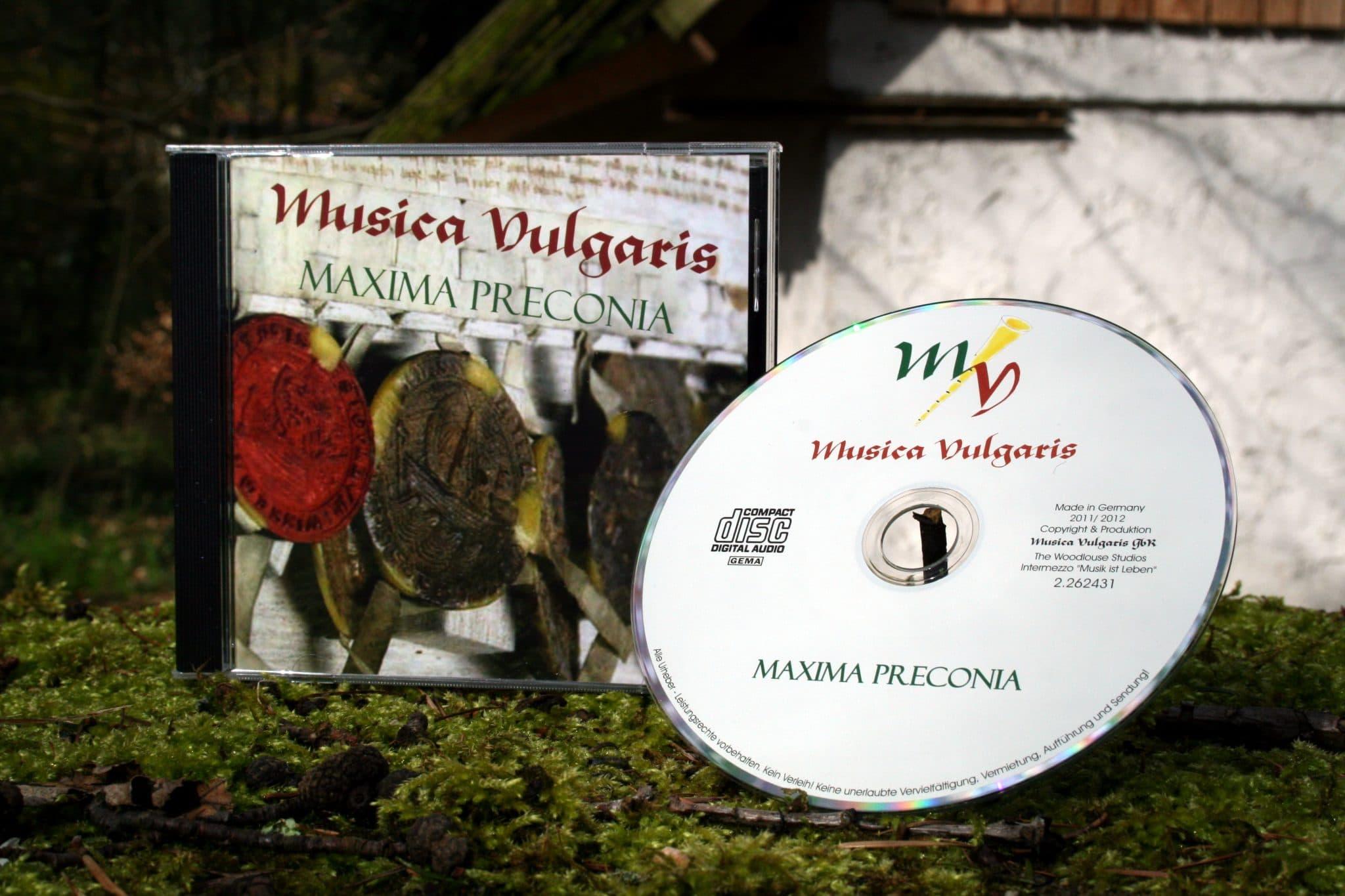Musica Vulgaris - Ganz was es vermuten lässt? - Bretonische Tänze, Drehleier, Dudelsack, Flöte, Frankreich, Gitarre, Great Highland Bagpipe, Harfe, Hümmelchen, Laute, Mittelalter, Rahmentrommel, Schottland, traditionelle Lieder