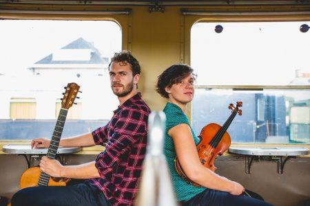 """Das Duo De Schepper-Sanczuk für ihr Album """"Perron 12"""""""
