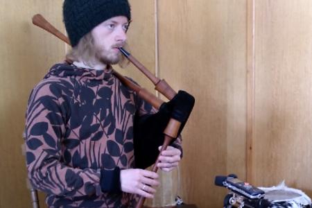 """Neuer Tune """"Unter Holz"""" für German Smallpipe - Noten für German Smallpipe"""