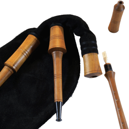 German Smallpipe zerlegt
