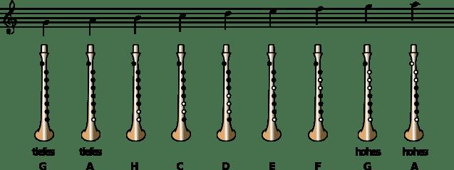Practice Chanter (Wee-Pipe schottisch) -