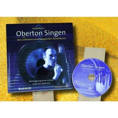 """Buch mit CD: """"Oberton Singen"""" von Wolfgang Saus -"""