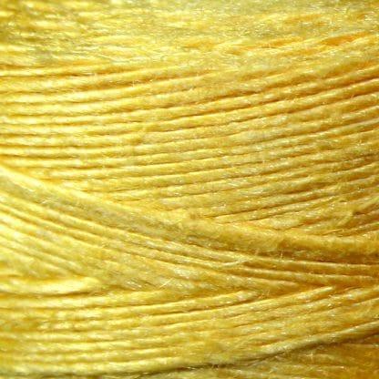 Yellow Unwaxed Bagpipe Hemp - 50g Rolle -