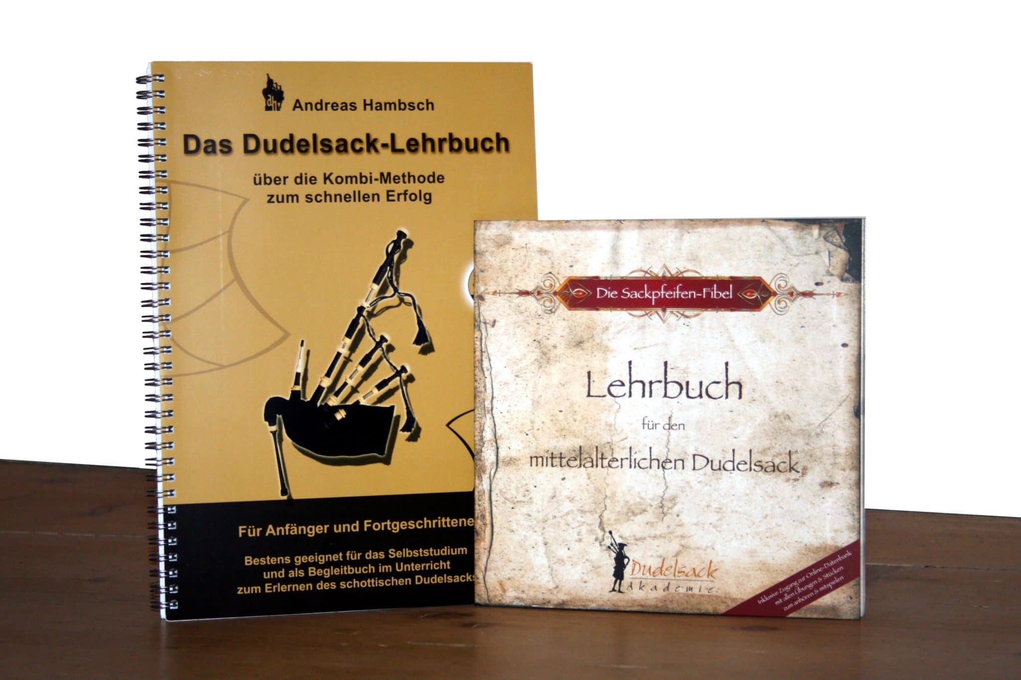 Die beiden besten deutschsprachigen Dudelsack Lehrbücher im Vergleich