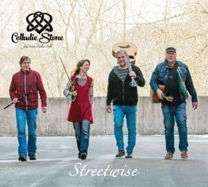 """""""Streetwise"""" von Colludie Stone: Irish-Folk aus Schwaben - Bodhrán, Colludie Stone, Gesang, Gitarre, Irish Flute, Irish-Folk, Violine"""
