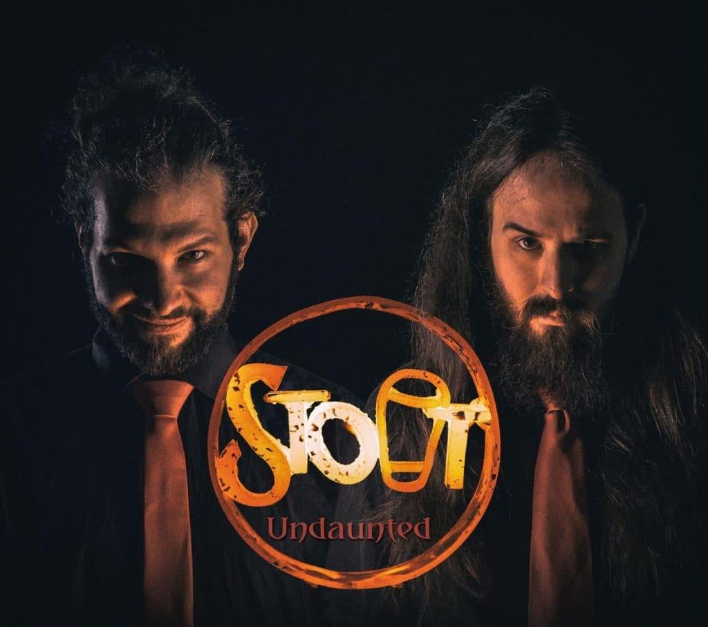 """Cover des Albums """"Undaunted"""" von STOUT"""