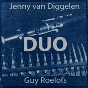 """Cover des Albums """"Duo"""" von Jenny van Diggelen und Guy Roelofs"""