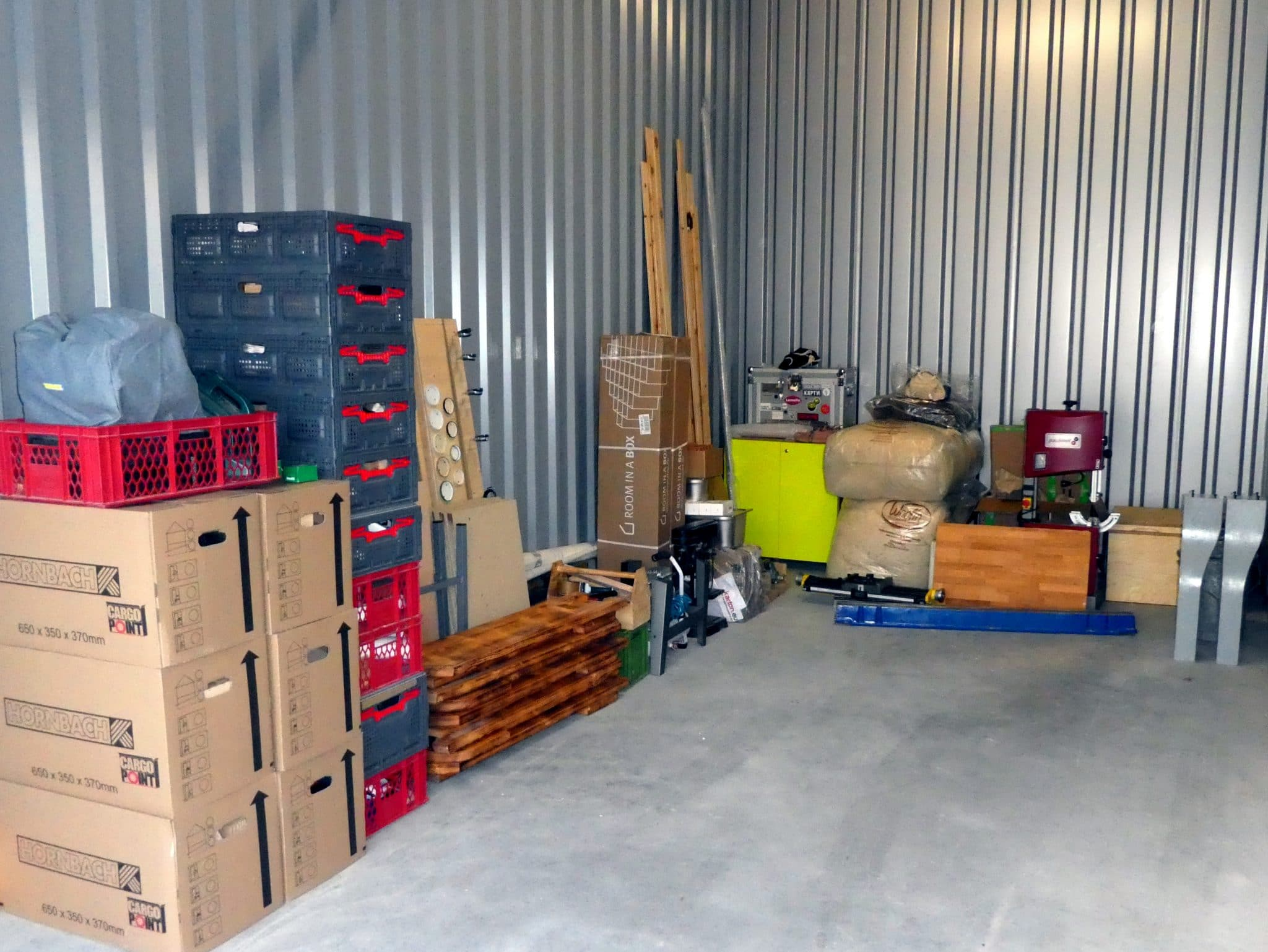 Erstman nur Kisten: Bezug der neuen Werkstatt in Offenburg